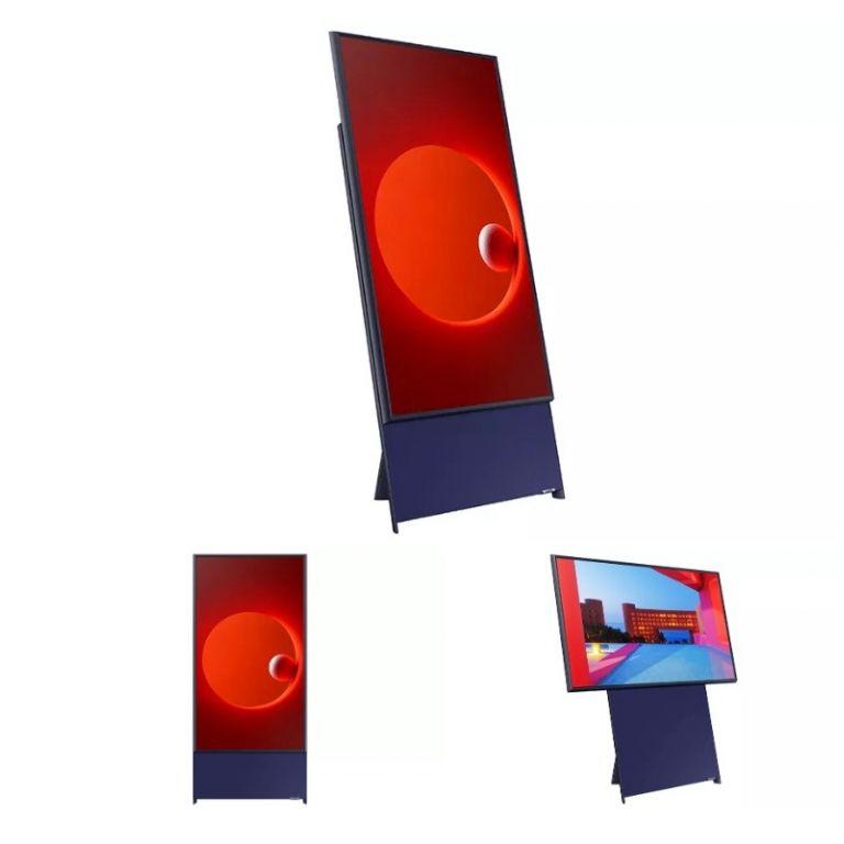 Samsung anunció una TV vertical, porque ese es el mundo donde vivimos ahora