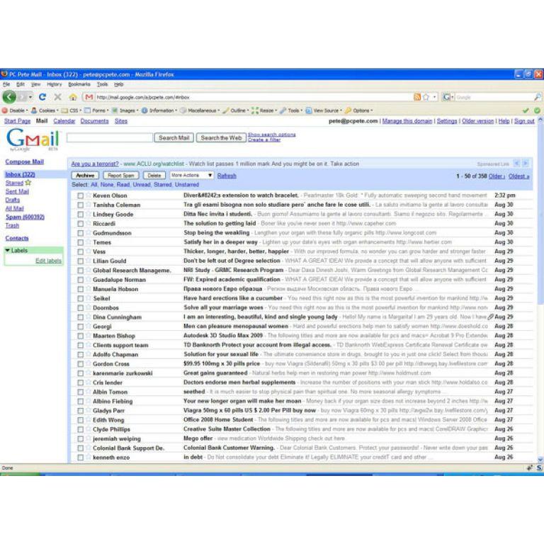 El buscador de Gmail ya encuentra adjuntos.