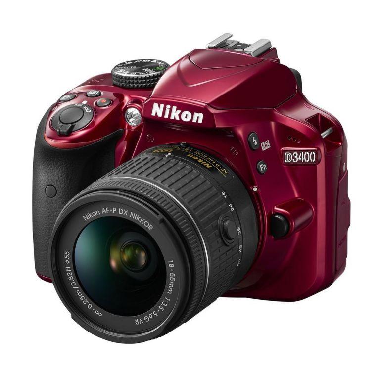 Nikon presenta la réflex ligera D3400