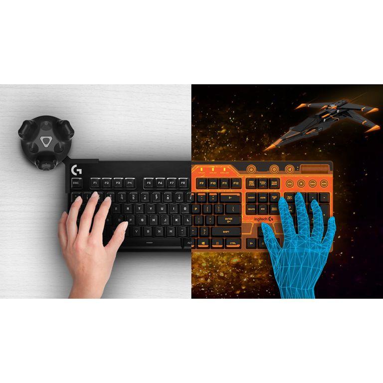 Logitech desarrolla un teclado para realidad virtual