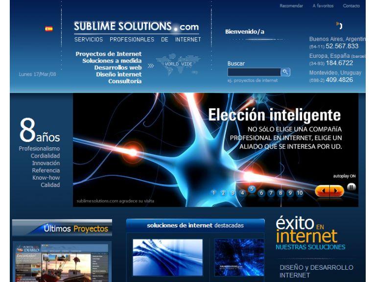 Nuevo diseño de nuestro sitio web, backstage y análisis. (Revisión 1)